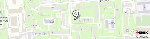 Почтовое отделение №2 на карте Липецка