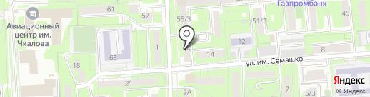 Усадьба на карте Липецка
