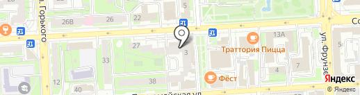 Hookah Place на карте Липецка