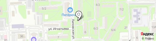 Красотища48 на карте Липецка