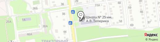 Вираж на карте Липецка