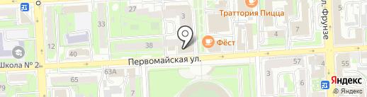 Росздравнадзор на карте Липецка
