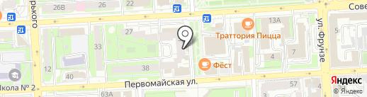 Мастерская авторской флористики Ирины Веселик на карте Липецка