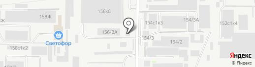 Комплект-Сервис на карте Ростова-на-Дону