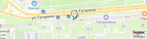 Объединенные вычислительные центры на карте Липецка