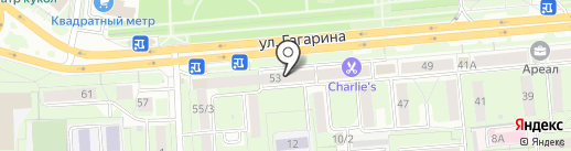 Элит-Мастер на карте Липецка