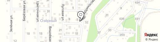 ОЗЁРНЫЙ, коттеджный поселок на карте Озерного