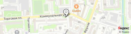 Чайковский на карте Липецка