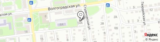 Седьмое небо на карте Липецка
