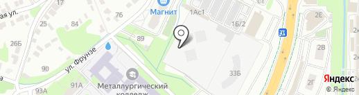 МУСПАТ по уборке г. Липецка на карте Липецка
