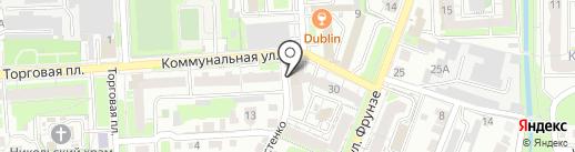 Компания МС Диагностика на карте Липецка