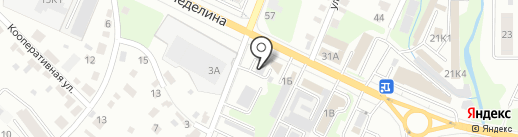 Аква на карте Липецка