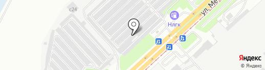 Авторемсервис на карте Липецка