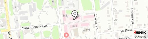 Липецкий областной наркологический диспансер на карте Липецка