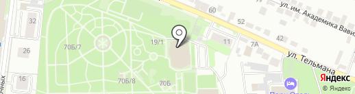 Эрмитаж на карте Липецка