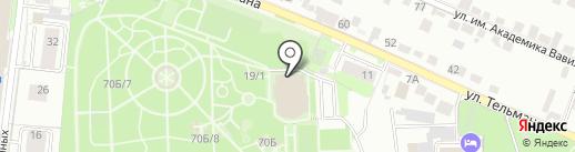 ЕВРОФУД-ЛАНЧ на карте Липецка