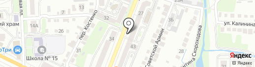 VAG Автозапчасти на карте Липецка