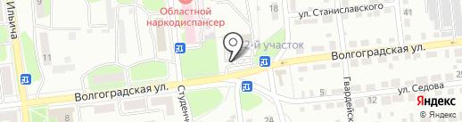 Пивнофъ на карте Липецка