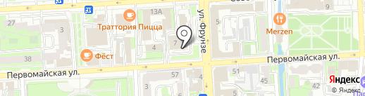 Центр развития добровольчества на карте Липецка
