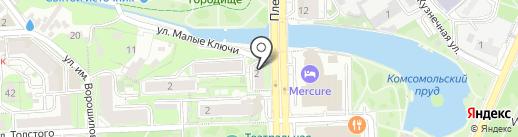 Медицинский центр Доктора Боголюбова на карте Липецка