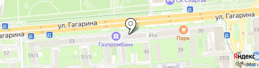 Фаркоп48 на карте Липецка