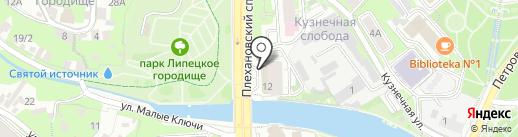 Приемная депутата Областного совета Разворотнева Н.В. на карте Липецка