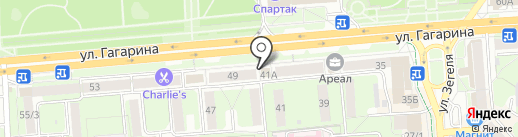 Красота на карте Липецка