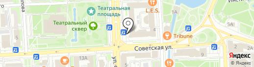Юридическая фирма на карте Липецка