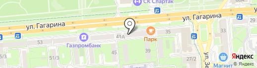 РИМИ на карте Липецка