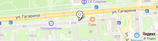 Компаньон на карте Липецка