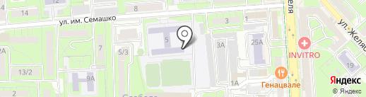 ЭкоСфера, МБУ на карте Липецка
