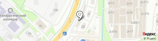 Vedro.pro на карте Липецка