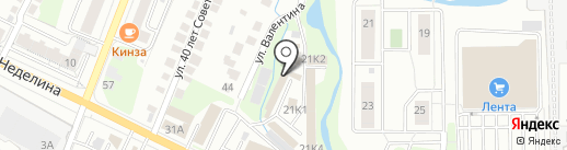 Центр кузовного ремонта на карте Липецка