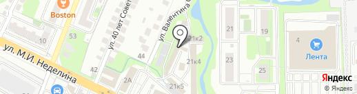 Магазин по подбору автоэмалей на карте Липецка