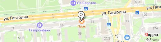 Fresh на карте Липецка