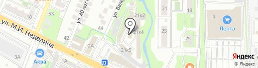БизнесТрейд на карте Липецка