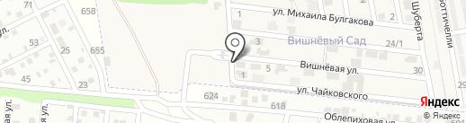 Вишнёвый сад на карте Ленинавана