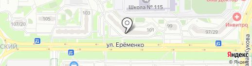 ВитаФарм на карте Ростова-на-Дону