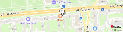 Центр международного обмена на карте Липецка