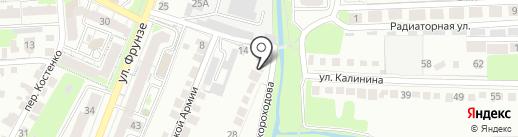 Компания по ремонту компьютеров на карте Липецка