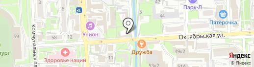 Мебельщик48 на карте Липецка