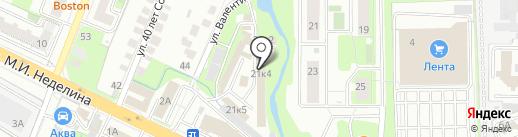 Маркет на карте Липецка