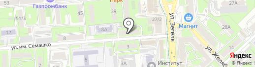 Центр семейной психологии Выставкиной Т.А. на карте Липецка