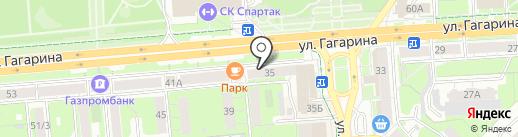 АКБ Трансстройбанк на карте Липецка