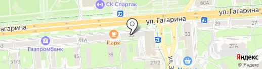 Трансстройбанк на карте Липецка