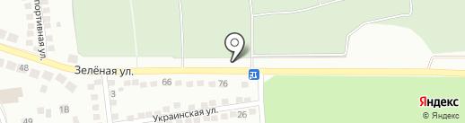 Некрополь на карте Липецка