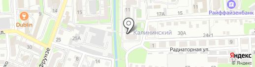 GENTLEMEN CLUB на карте Липецка
