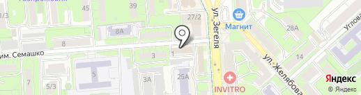 Центр реставрации на карте Липецка