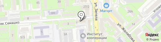 ХРАМ на карте Липецка