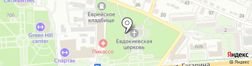 Храм преподобной мученицы Евдокии на карте Липецка